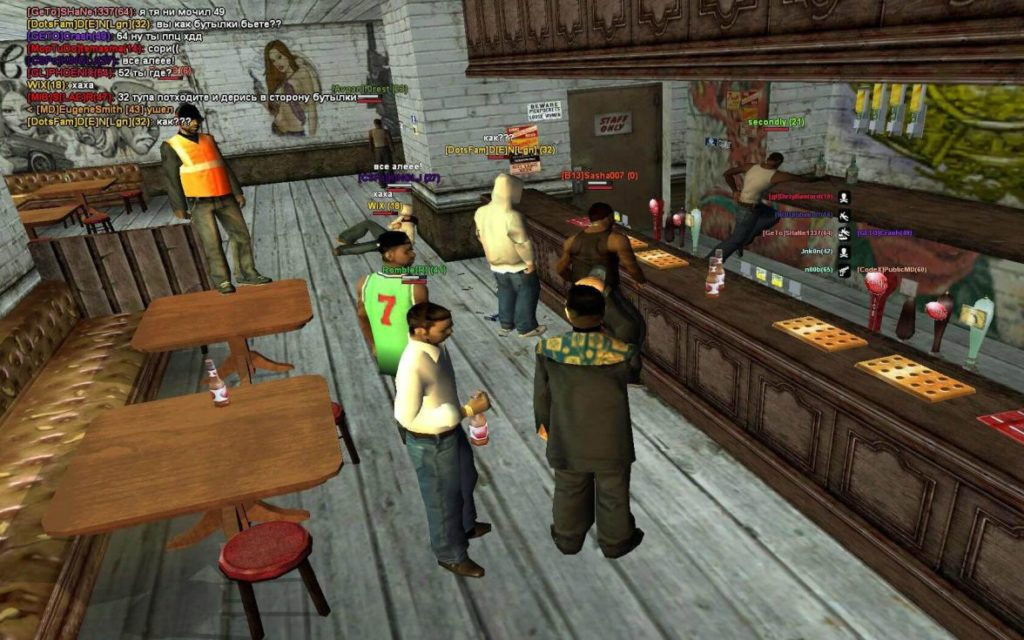 GTA: San Andreas MultiPlayer (SAMP) 0.3.7