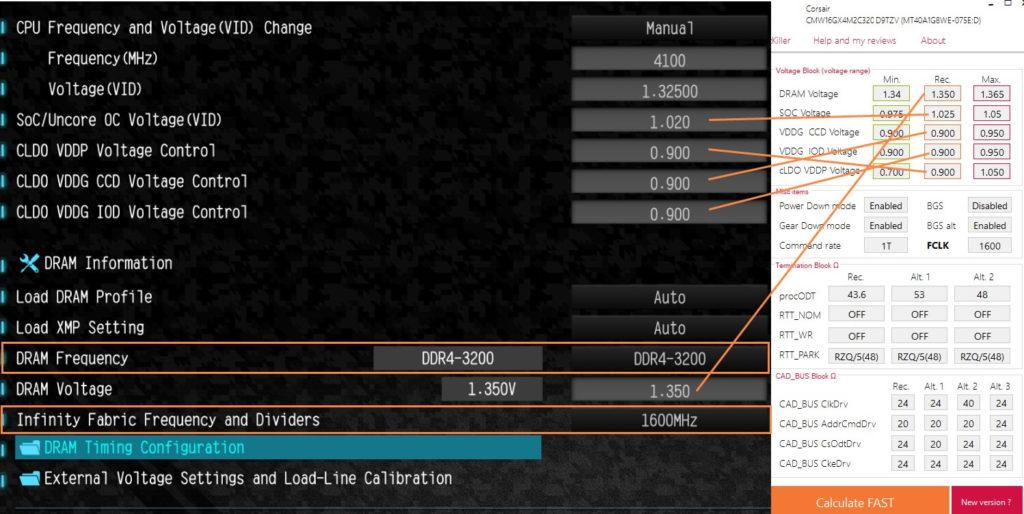 Руководство по разгону ОЗУ с помощью DRAM Ryzen Calculator